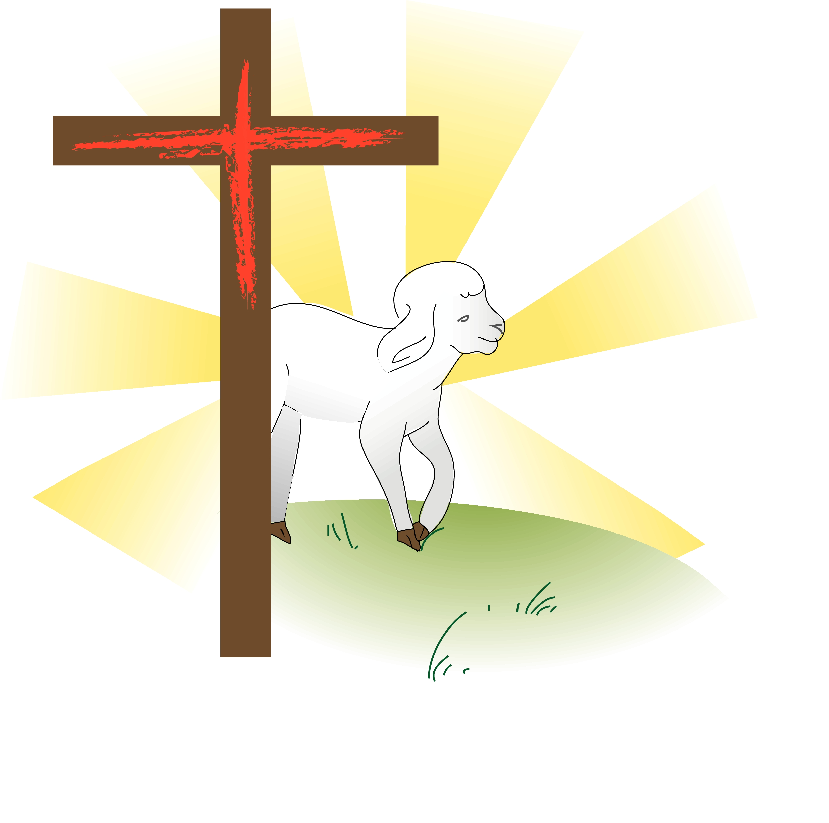 clipart of jesus with sheep - photo #10