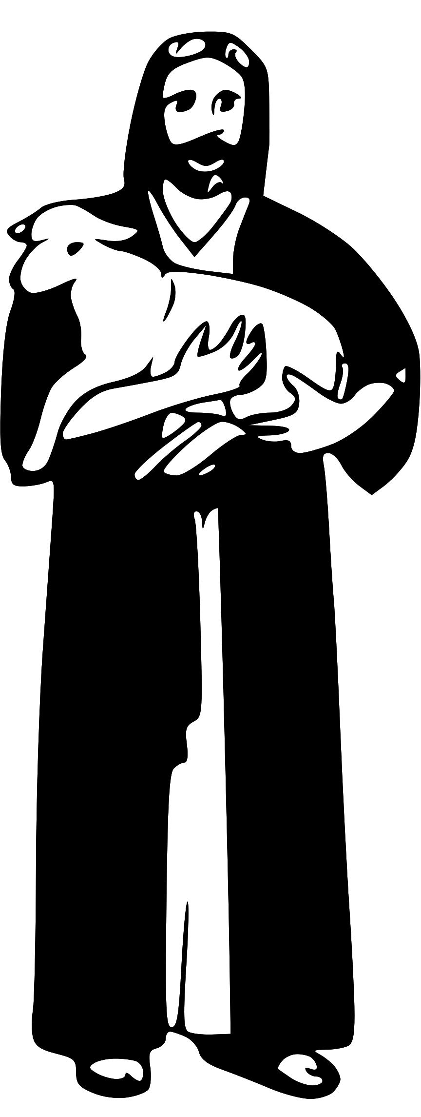 Jesus Lamb Clipart - Clipart Kid