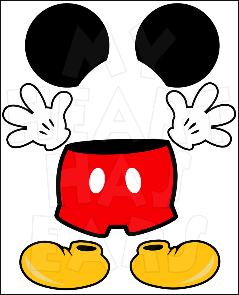 Minnie Mouse Heart Transparent Clipart - Clipart Kid