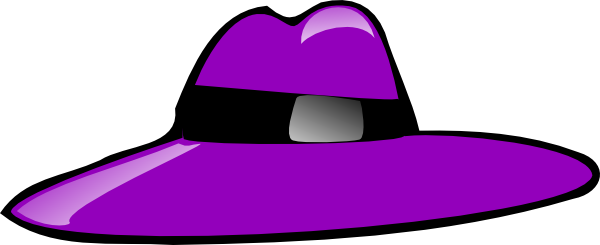 Purple Hat Clip Art At Clker Com   Vector Clip Art Online Royalty