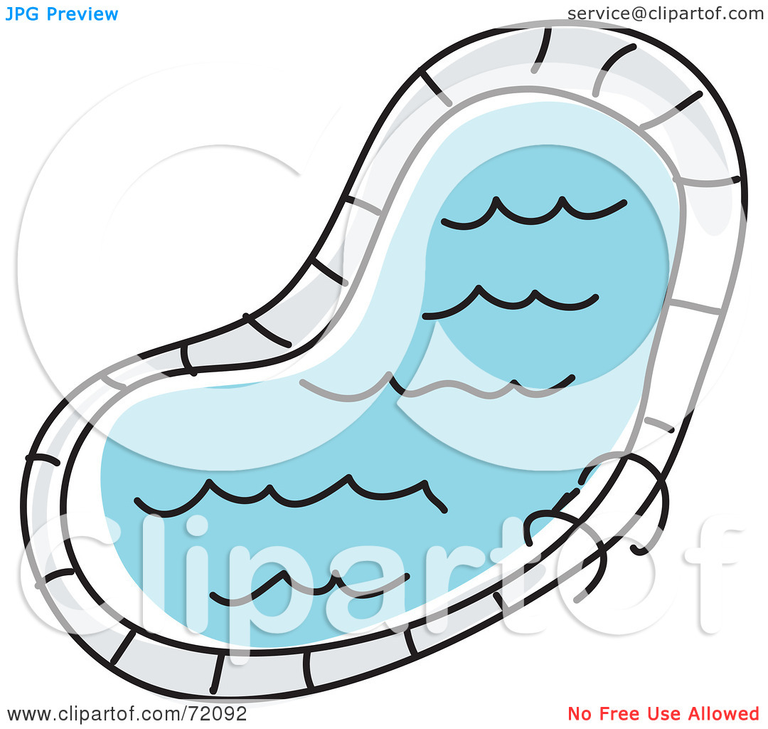 Swimming Pool Clipart Black And White   Clipart Panda   Free Clipart
