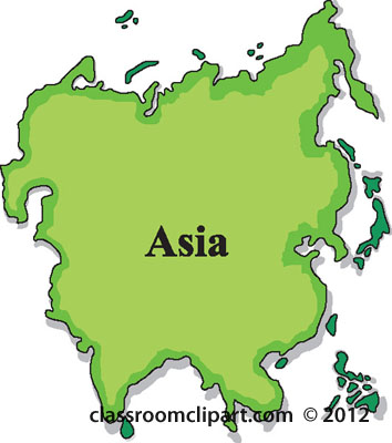 asia map clipart clipart suggest