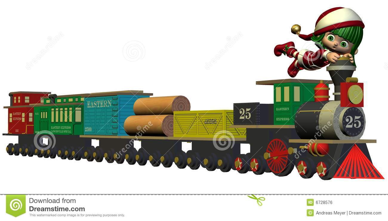 Christmas Toy Train : Train christmas toys clipart suggest