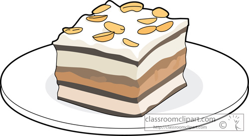 Dessert Clipart   Chocolate Whip Cream Pudding   Classroom Clipart