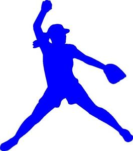 Fast Pitch Softball Clip Art Free