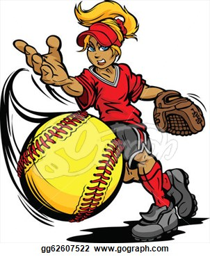 Free Fastpitch Softball Clipart Clipart Best