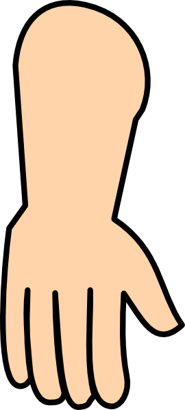 Pointing Down Hand Clip Art Clipart Panda Free Clipart Images