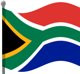 Share South Africa Flag Waving Clipart With You Friends