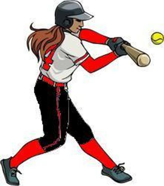 Softball Cartoon Clip Art   Cliparts Co