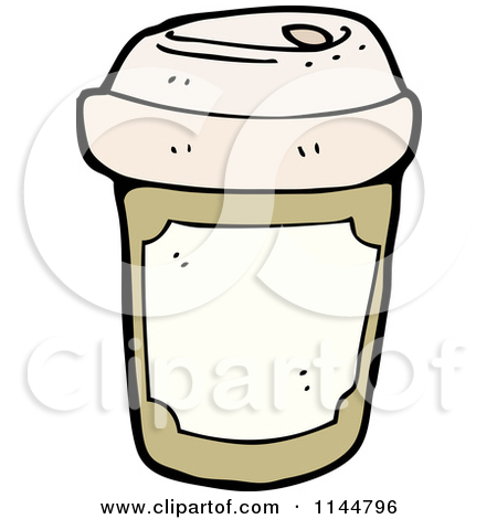 Styrofoam Cup Clipart 1144796 Cartoon Of A Brown To Go Coffee Cup 1