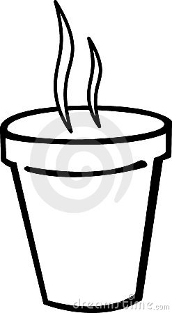 Styrofoam Cup Clipart Smoking Hot Coffee Styrofoam Cup Vector 6110335