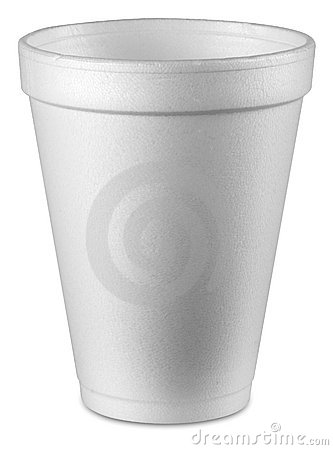 Styrofoam Cup Stock Photography   Image  19180012