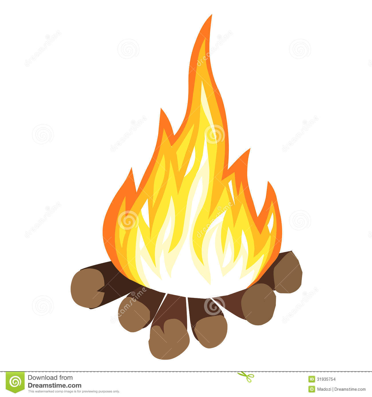 free clip art fire pit - photo #41