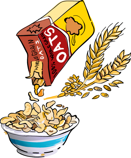 Breakfast Cereal Clipart - Clipart Suggest Quaker Oatmeal Clip Art