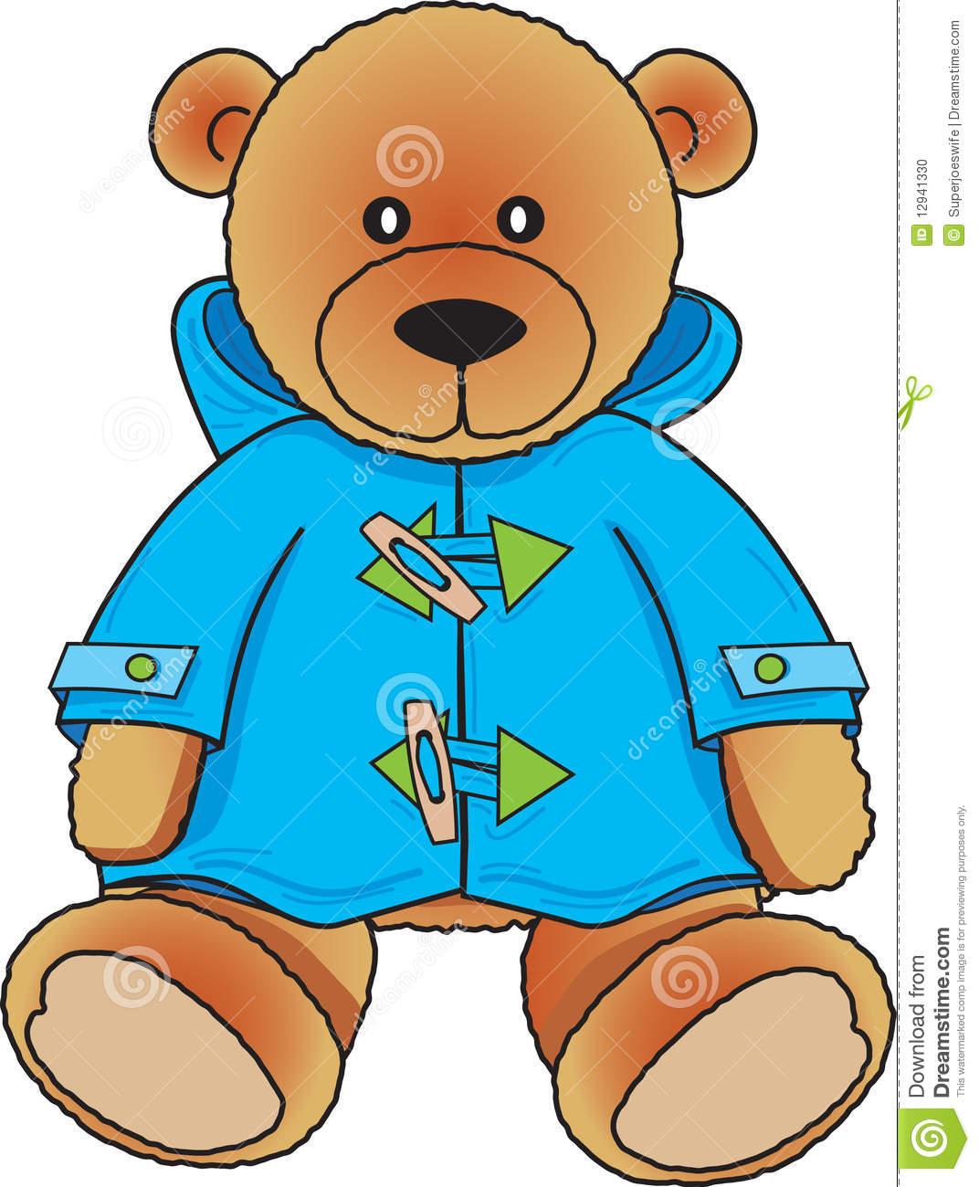Blue Teddy Bear Clipart - Clipart Kid