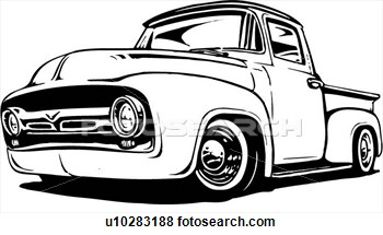 Classic Truck Drawings Galleryhipcom The Hippest Galleries