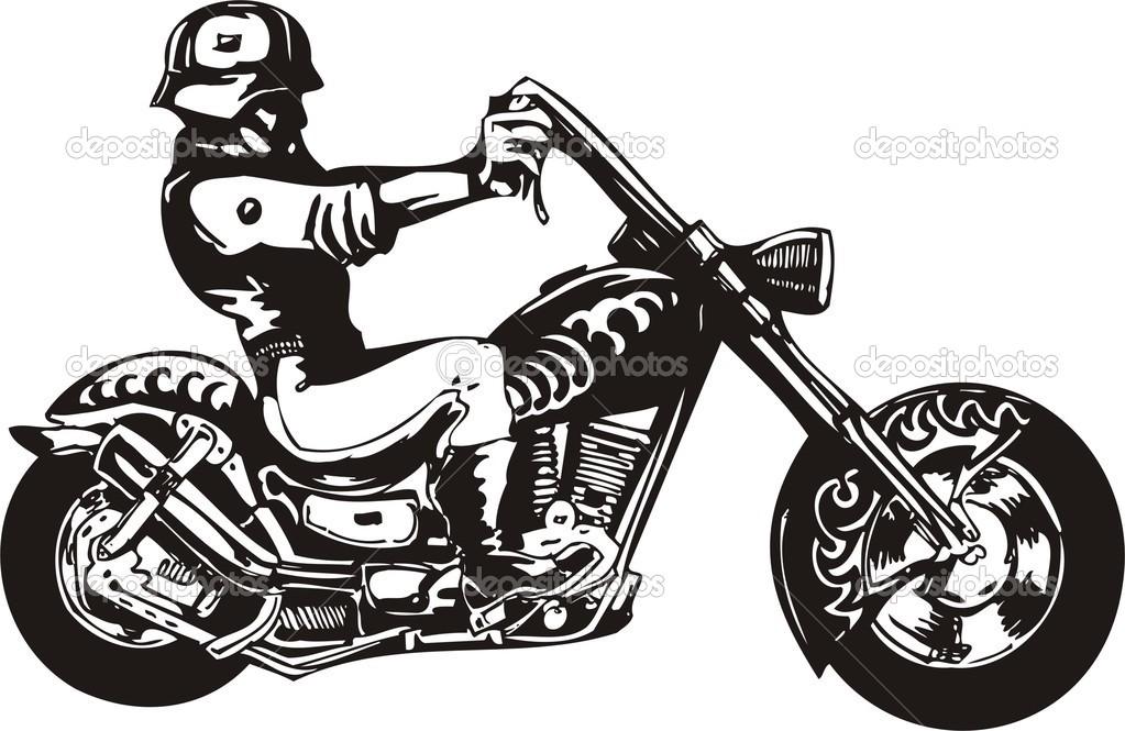 Harley Davidson Clip Art: Motorcycle Harley-davidson Clipart