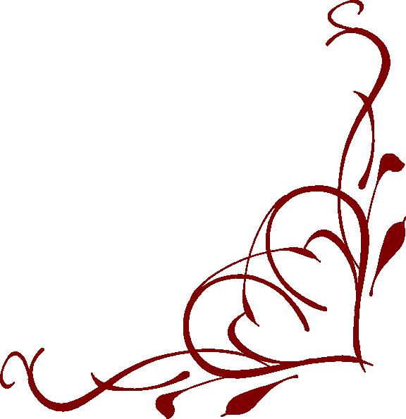 Heart Corner Clip Art At Clker Com Vector Clip Art Online Royalty