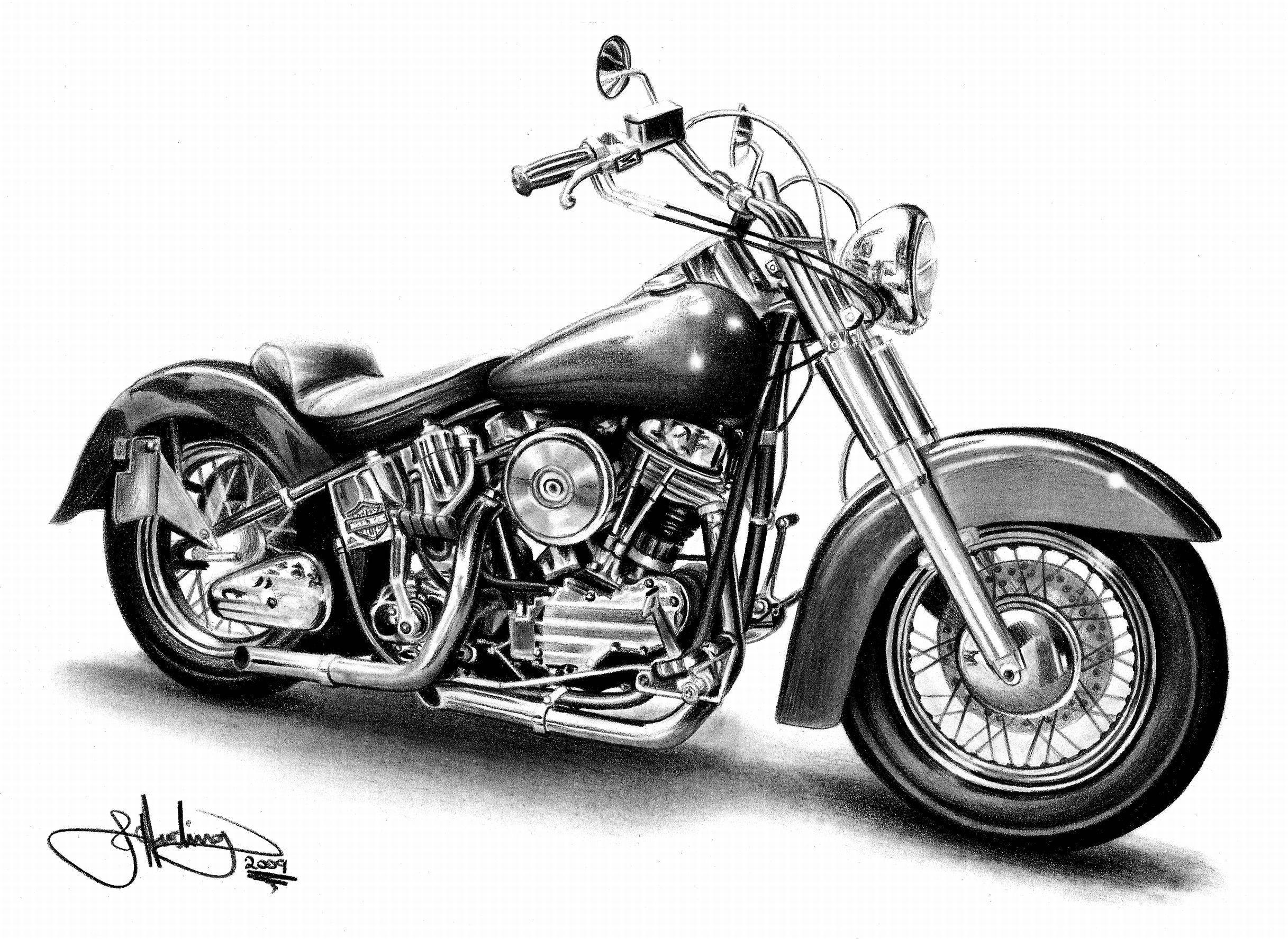 Printable Harley Davidson Coloring Pages 2 Lrg 854 46 Kb Rating