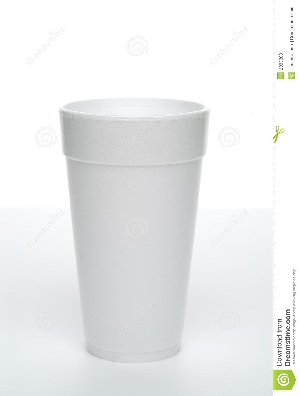 Styrofoam Cup  Royalty Free Stock Photos   Image  2938308