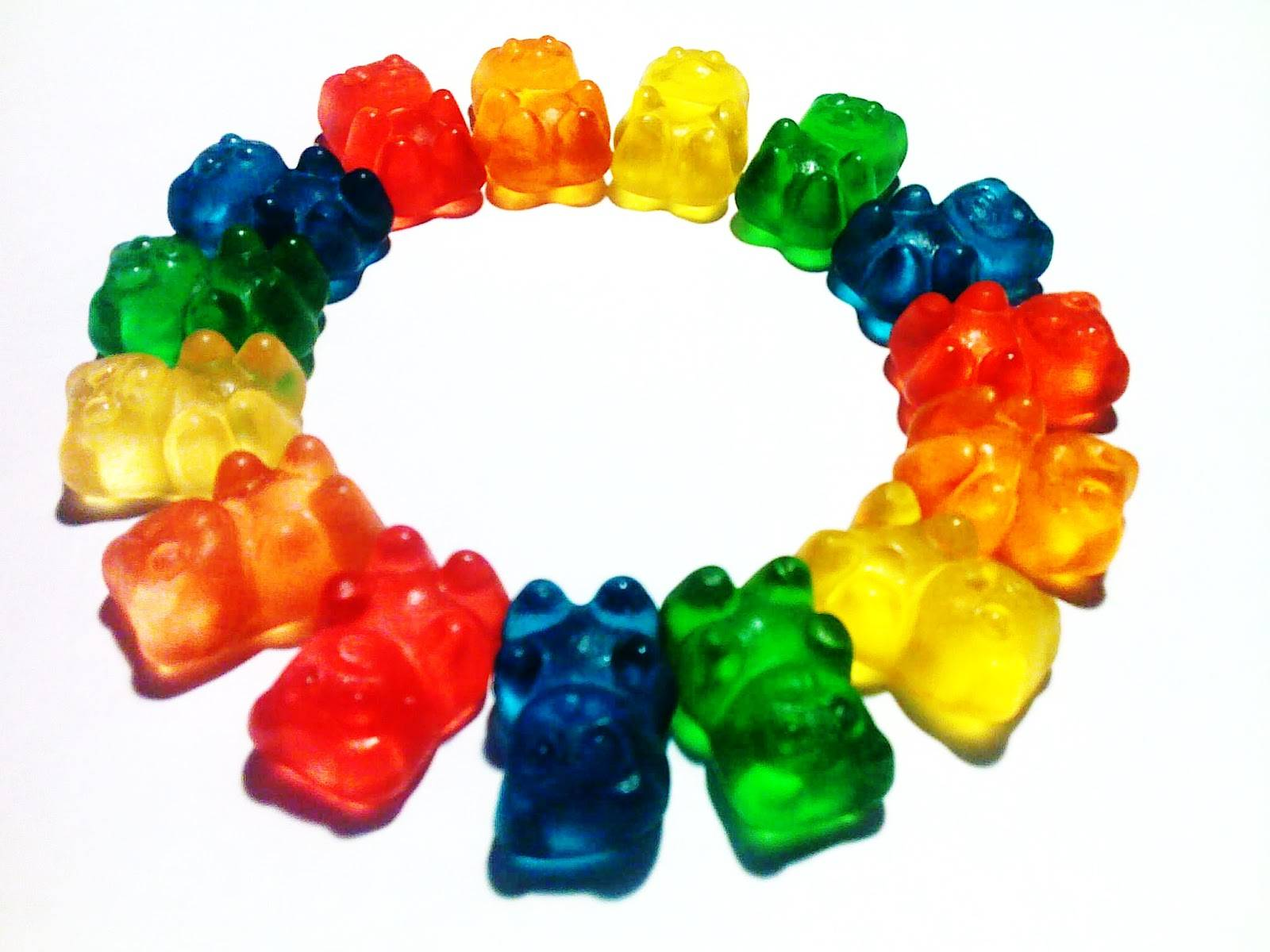 3d Gummy Bear Clipart