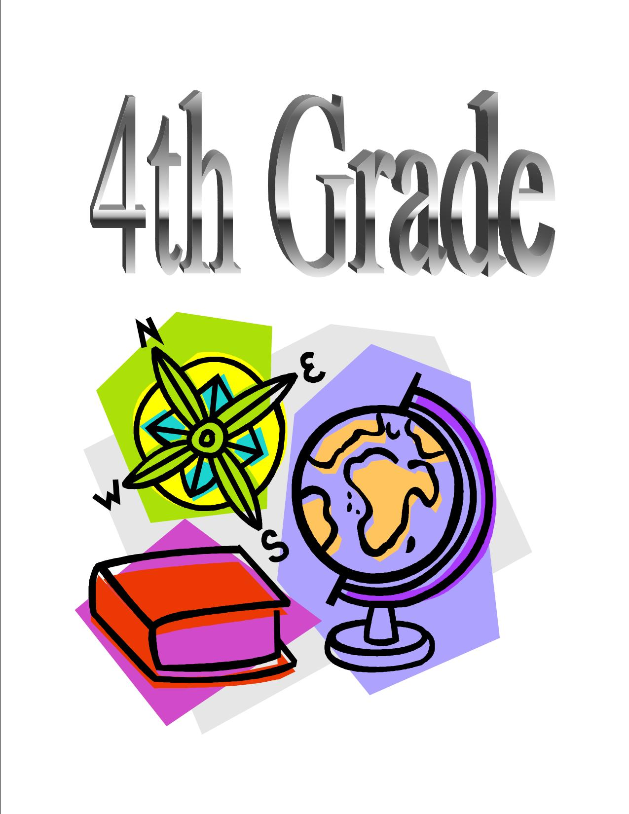4th Grade Clipart