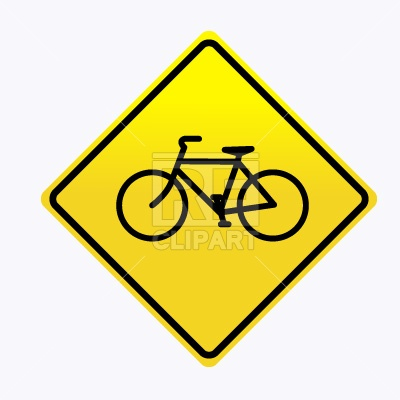 Bicycle Road Sign 150 Signs Symbols Maps Download Free Vector