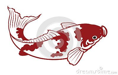 Clip Art Koi Fish Clipart carp fish silhouette clipart kid clipart