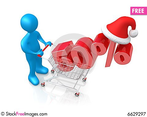 Free Holiday Discount Royalty Free Stock Photography   6629297