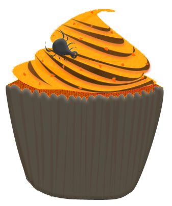 Halloween Cupcake Clipart By Wisp Stock On Deviantart