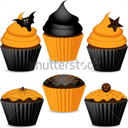 Halloween Cupcake Clipart Cake Ideas And Designs