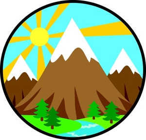 Mountain Climbers Clip Art