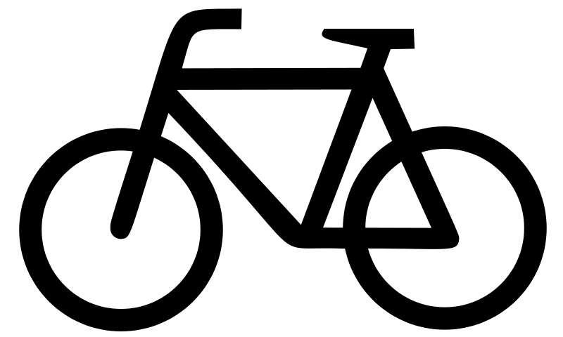Plain Bicycle Icon Large    Recreation Cycling Bicycles Plain Bicycle
