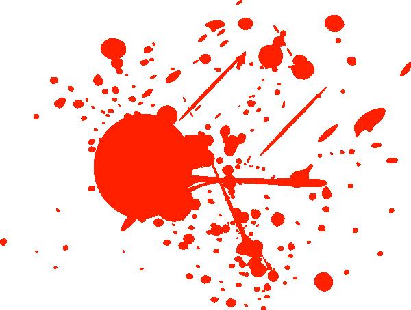 Clip Art Blood Splatter Clipart blood splatter clipart kid bright red clip art at clker com vector online