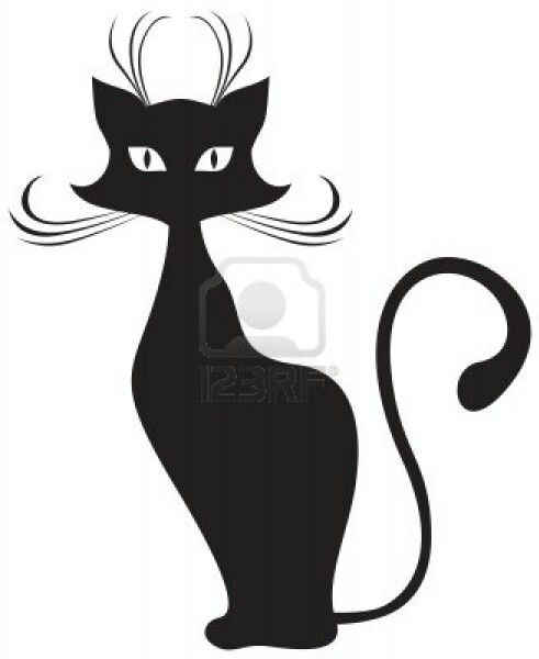 Cat Silhouette   Google Search   Silhouette Animals   Pinterest