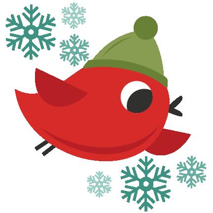 Christmas Bird Clipart - Clipart Kid