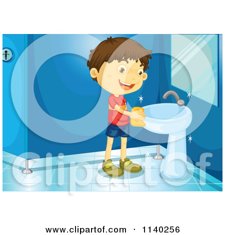 Clean Bathroom Sink Clipart Clean Bathroom Sink Clipart