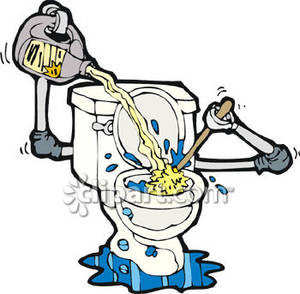 Clean Toilet Clipart - Clipart Kid
