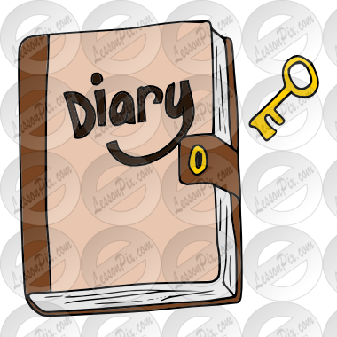 Clipart Diary Diary Picture