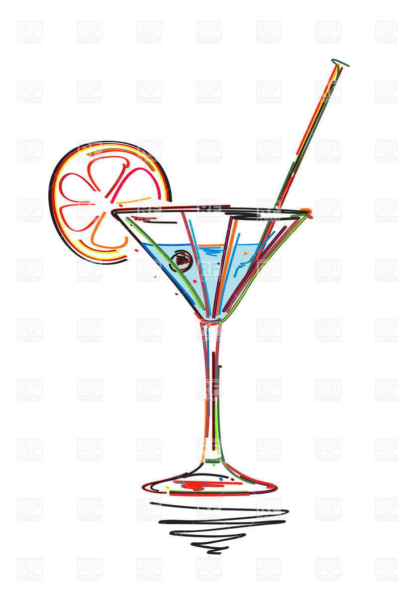 ... Party Borders Clip Art Symbolic Cocktail With Lime - Clipart Kid