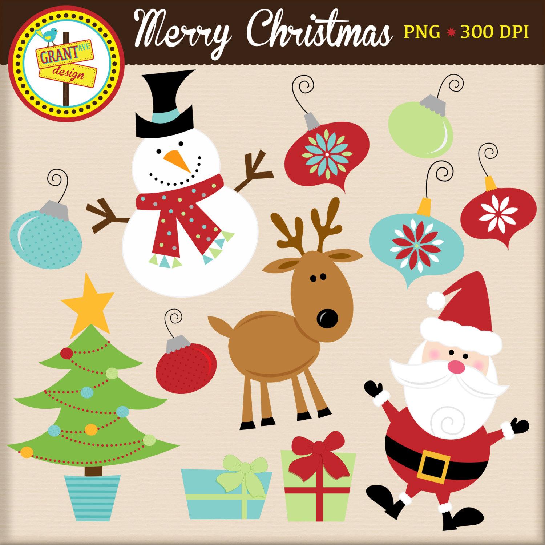 Cute Christmas Clip Art Clipart