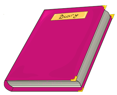 Diary Pink   Http   Www Wpclipart Com Education Books Diary Diary Pink