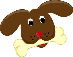 Cute Dog Bone Clipart - Clipart Kid