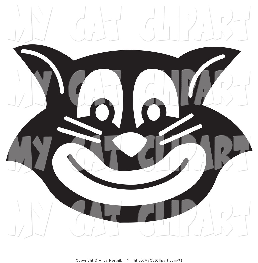 Evil Black Cat Smiling Gentleman Black Cat Wearing A Hat And A Bow And