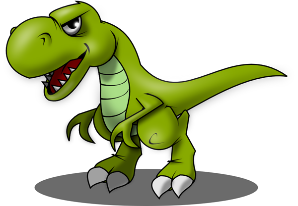 Free Angry T Rex Clip Art