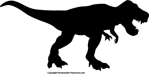 Clip Art T Rex Clip Art t rex silhouette clipart kid home free rex
