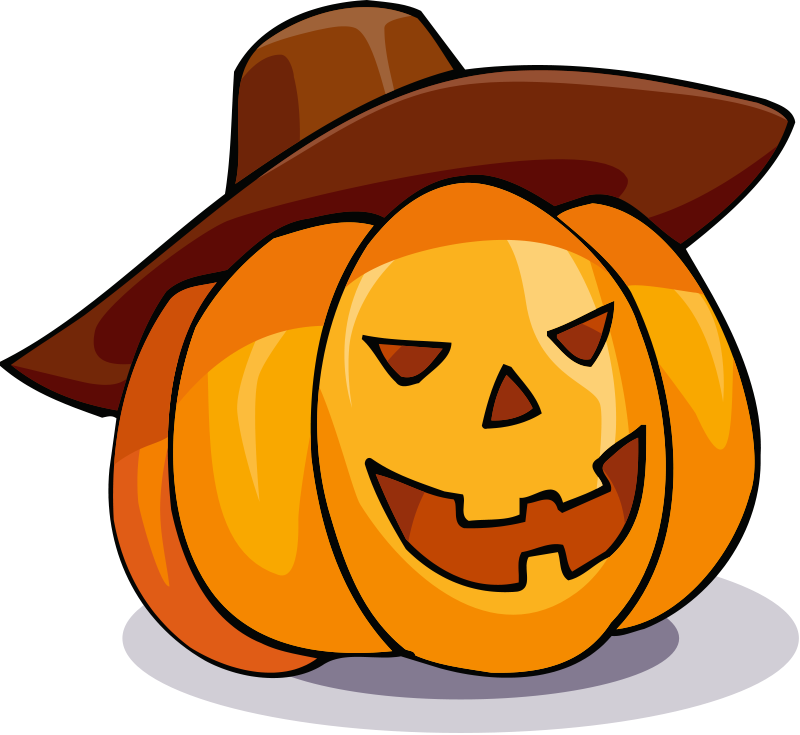 Friendly Jack O Lantern Clipart - Clipart Kid