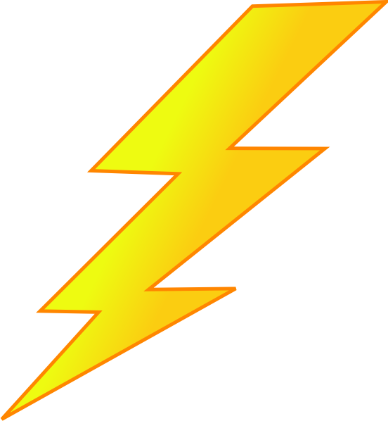 Free Lightning Clipart - Clipart Kid