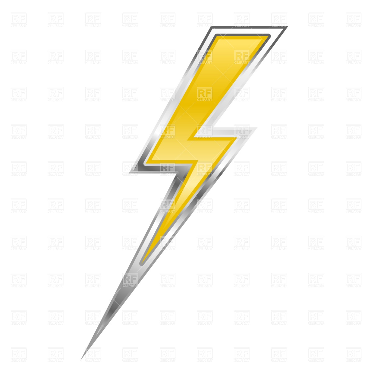 Lightning Bolt Download Royalty Free Vector Clipart  Eps