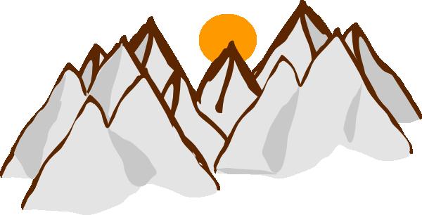 Clip Art Mountains Clip Art mountain range clipart kid drawing sunset hi png